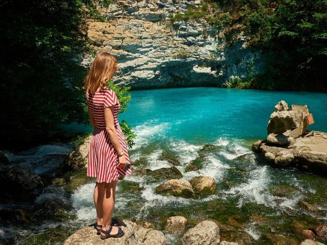 Озеро Рица — зеркало души