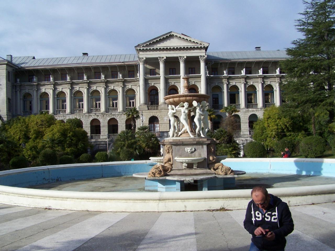 Санаторий имени Серго Орджоникидзе  - индивидуальная экскурсия в Сочи от опытного гида