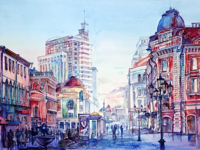 Пешеходная по Казани