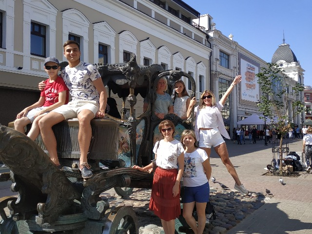 Пешеходная экскурсия по удивительной Казани