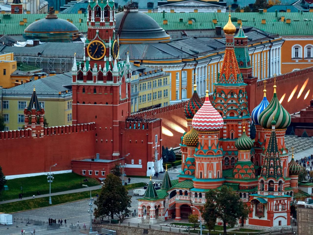 Вокруг Кремля - групповая экскурсия по Москве от опытного гида