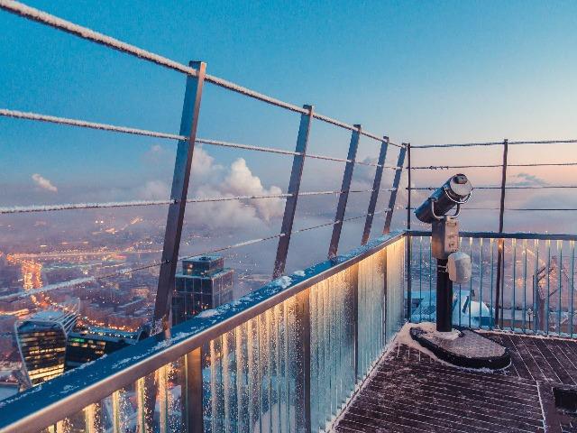Смотровая площадка в Москва-сити