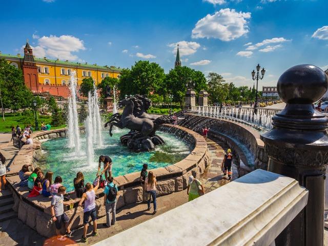 Красная площадь и Александровский сад