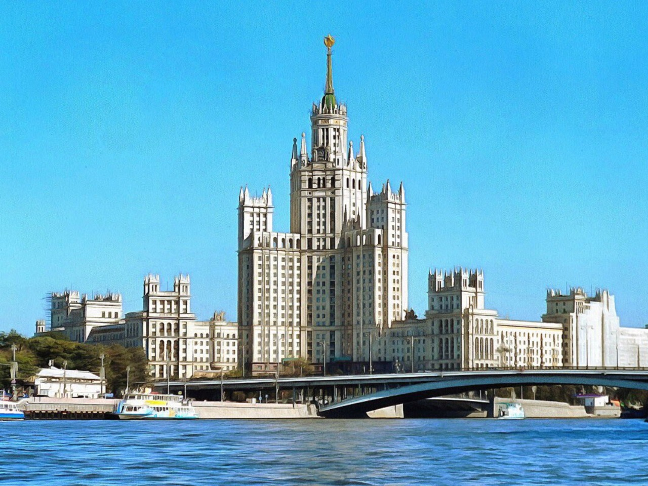 К великой балерине Улановой в Сталинскую высотку - групповая экскурсия по Москве от опытного гида