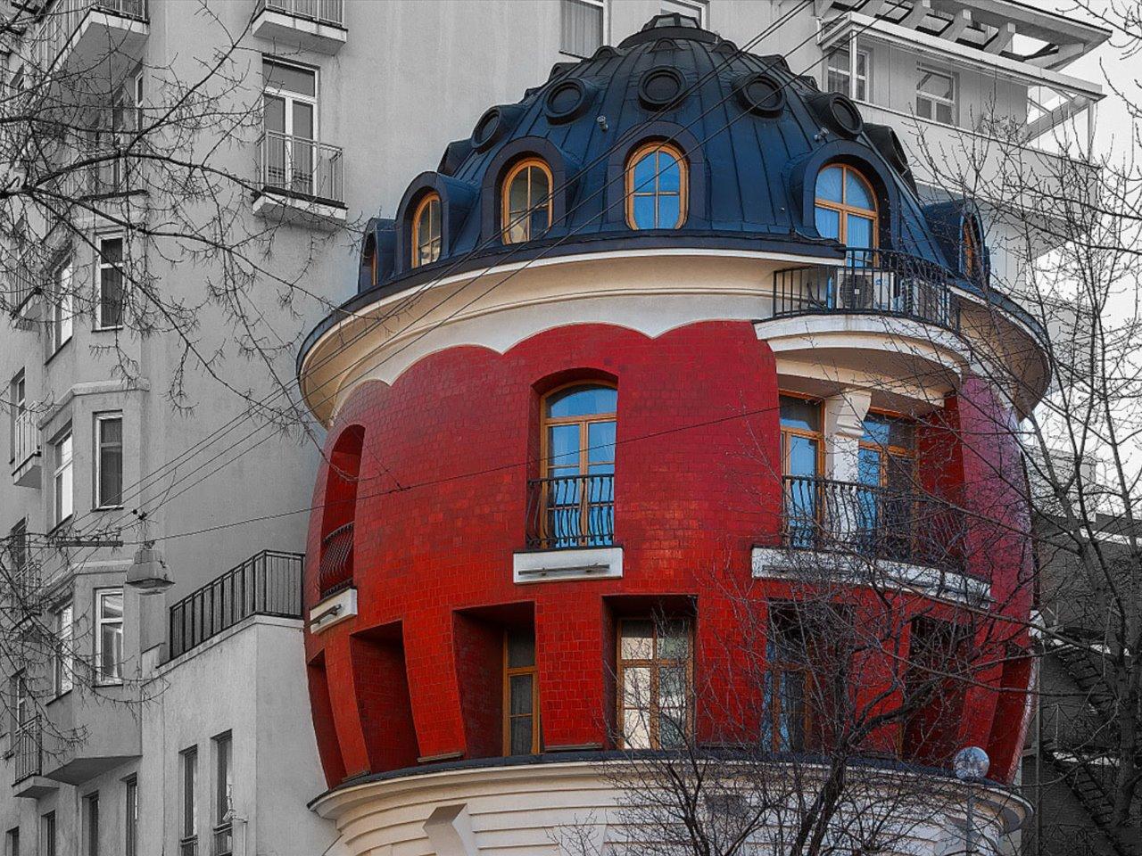 Необычные дома Москвы - индивидуальная экскурсия в Москве от опытного гида