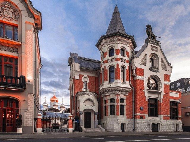 Остоженка - архитектурная палитра Москвы
