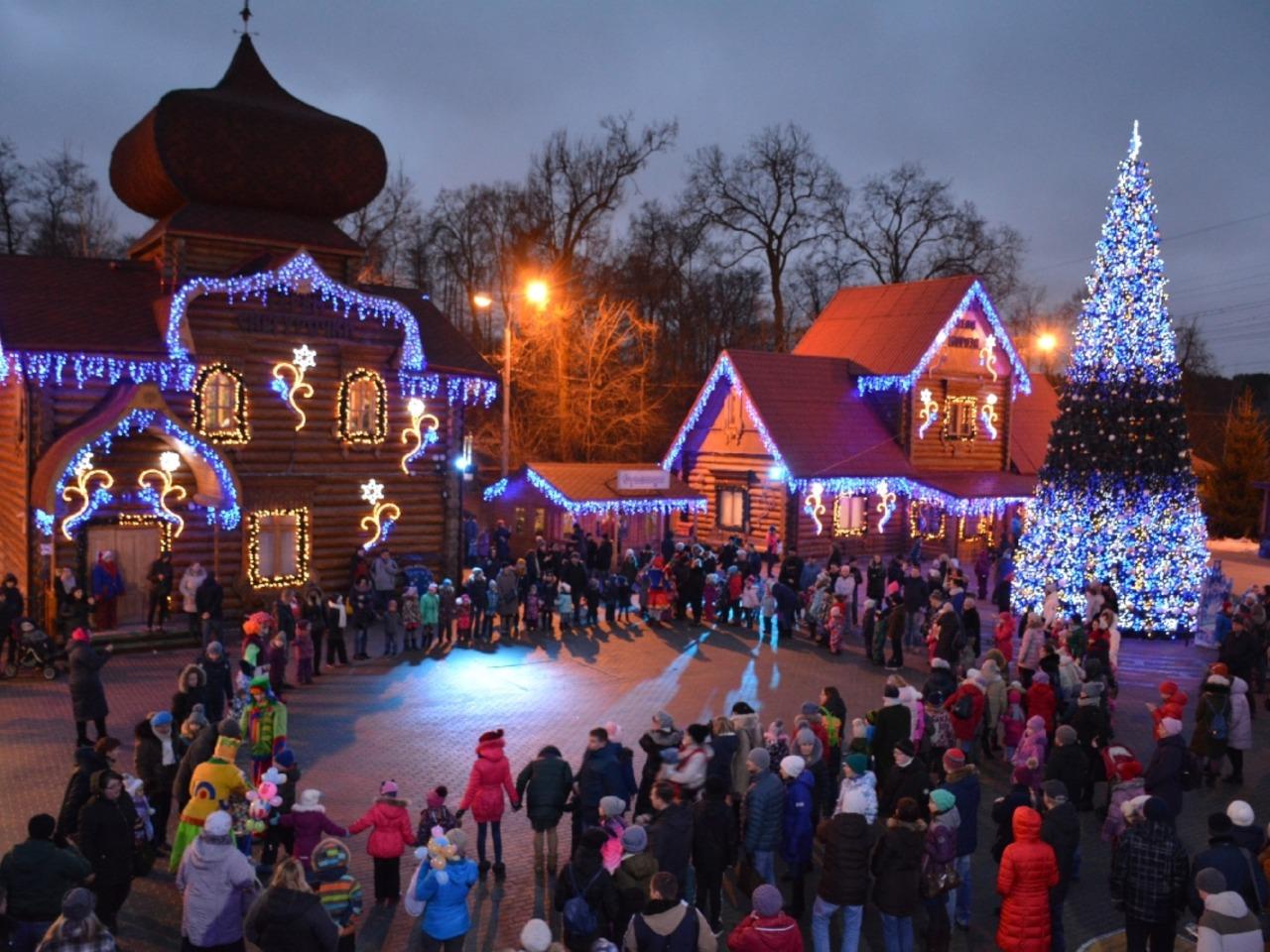 С Дедом Морозом по новогодней Москве - индивидуальная экскурсия по Москве от опытного гида