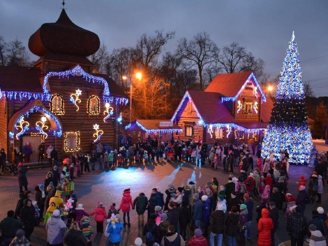 С Дедом Морозом по новогодней Москве