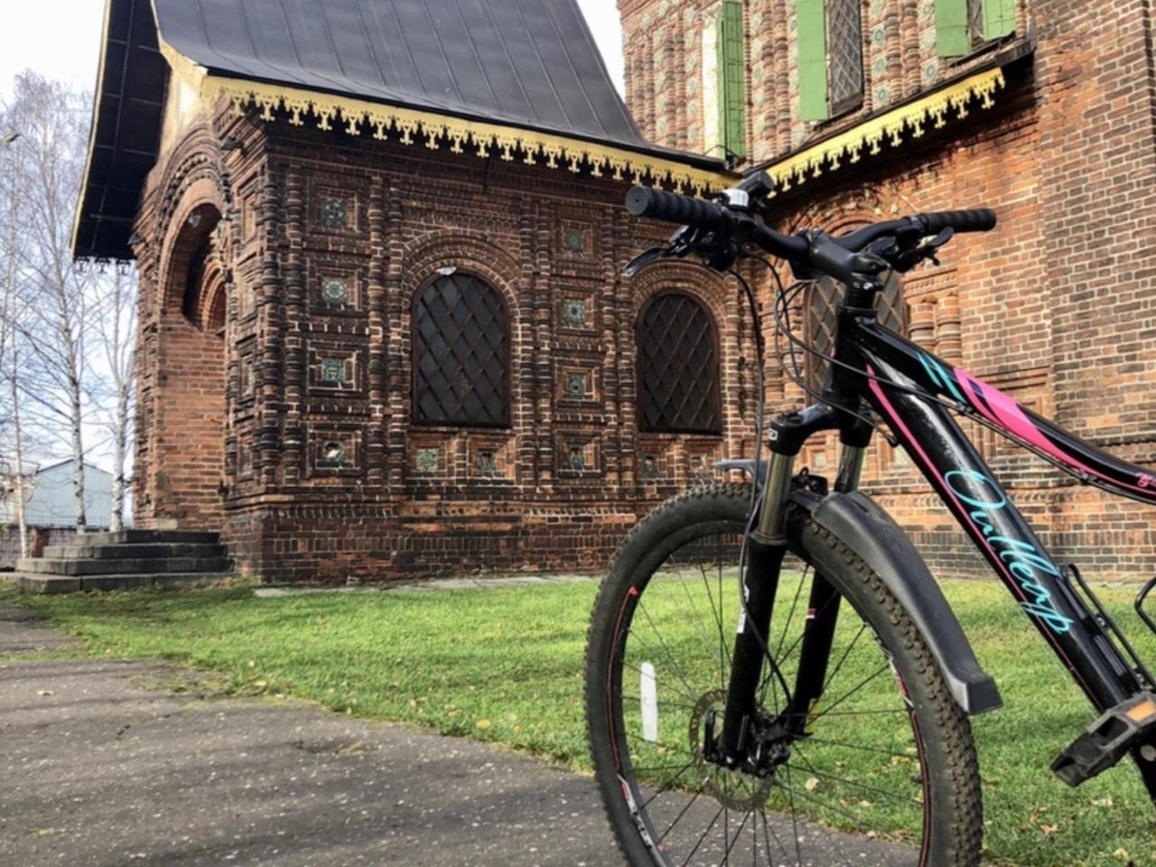 Велосипедная экскурсия по Ярославлю - индивидуальная экскурсия в Ярославле от опытного гида