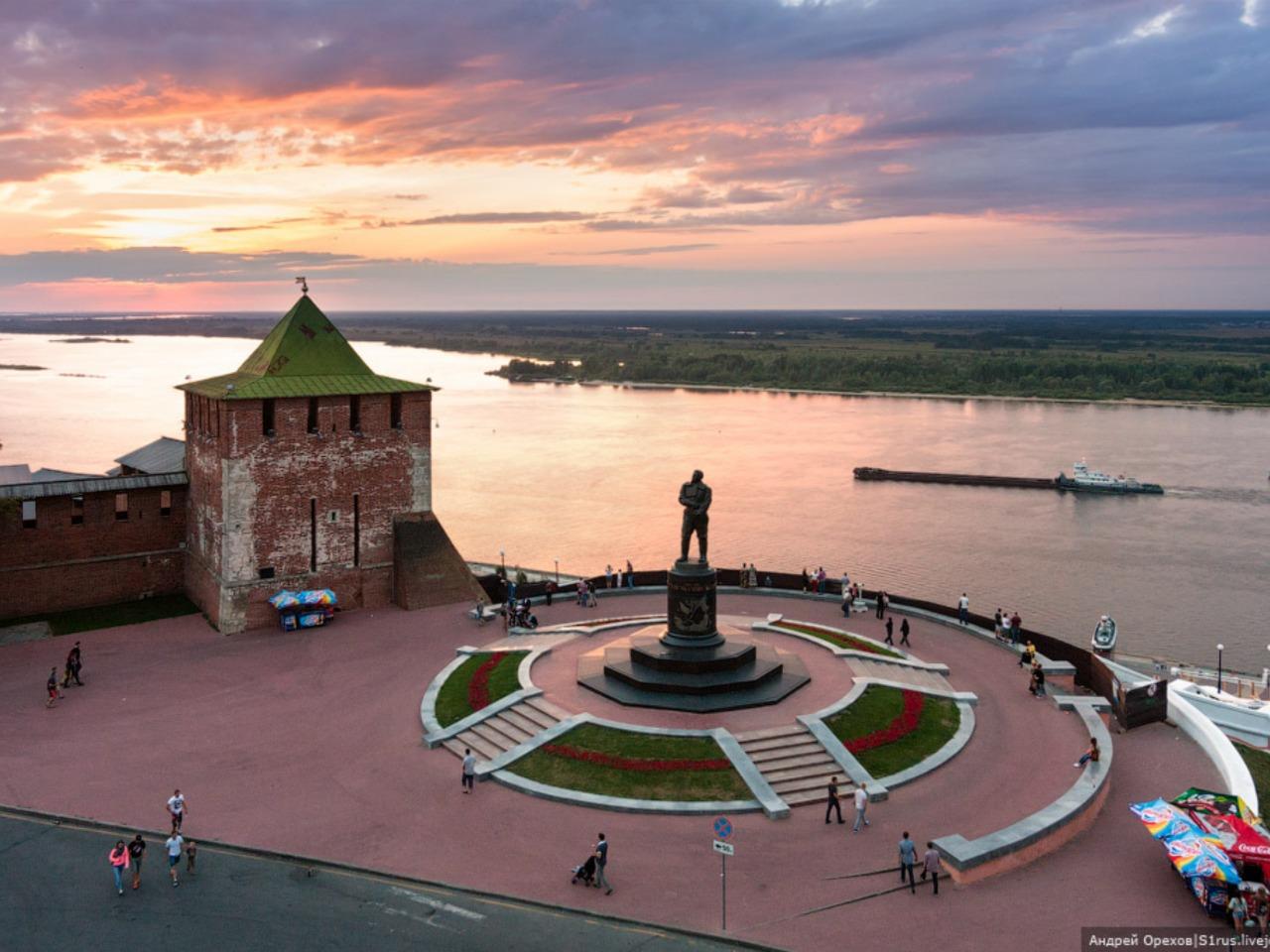 Нижний - столица закатов - индивидуальная экскурсия по Нижнему Новгороду от опытного гида