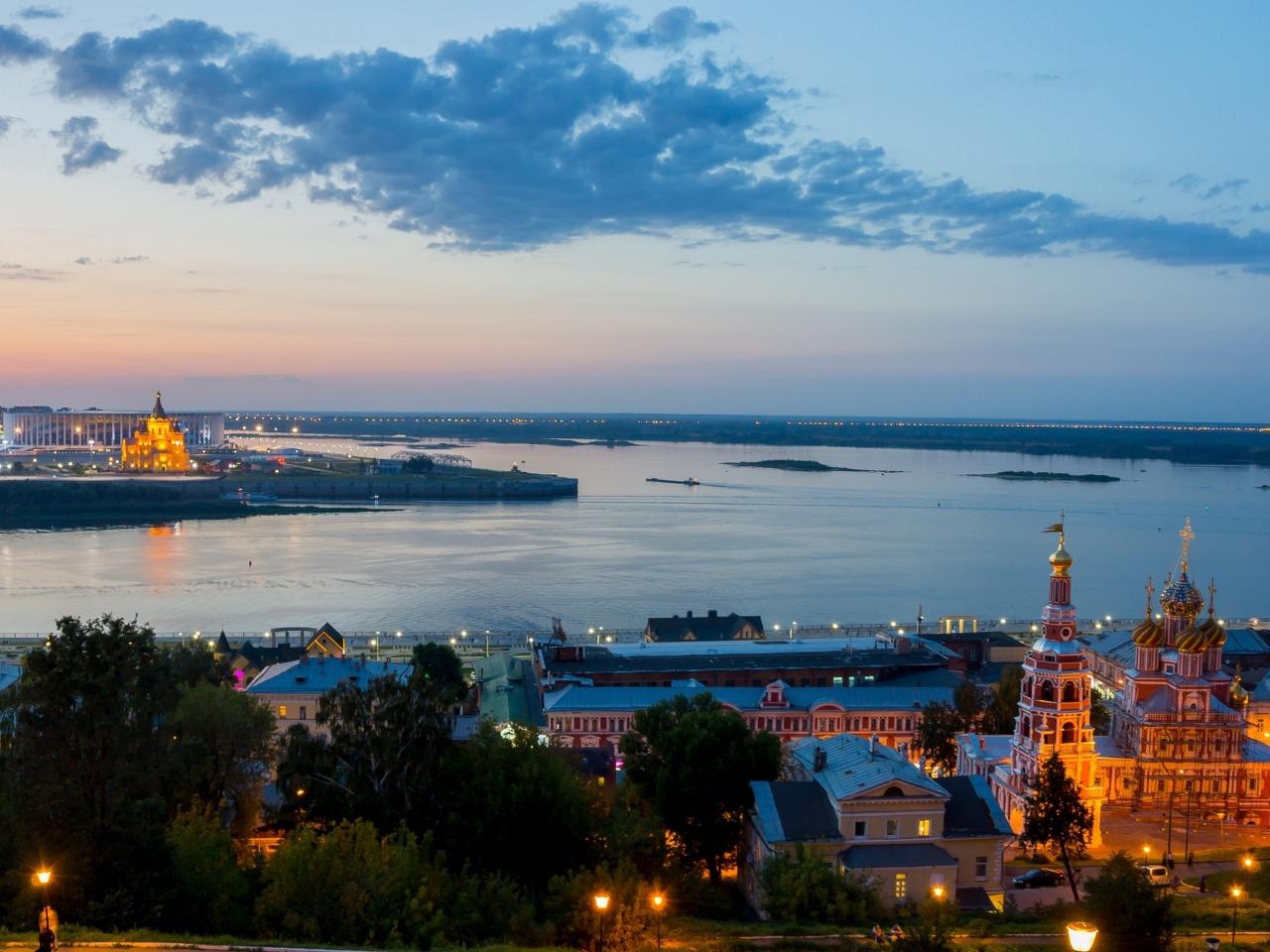 Город над Окой и Волгой - групповая экскурсия по Нижнему Новгороду от опытного гида