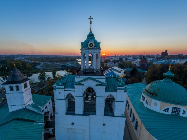 Монастыри Ярославля