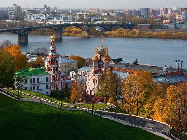 Нижний Новгород. Обзорная экскурсия