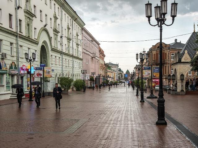 Галопом по Нижнему Новгороду