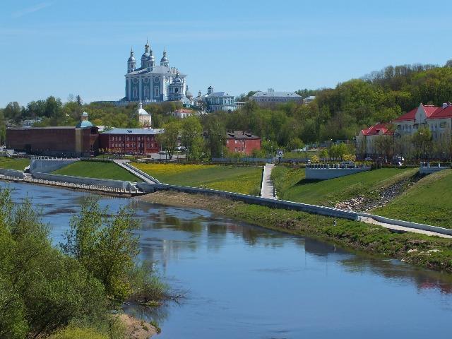Золотые купола над Днепром - Смоленск православный