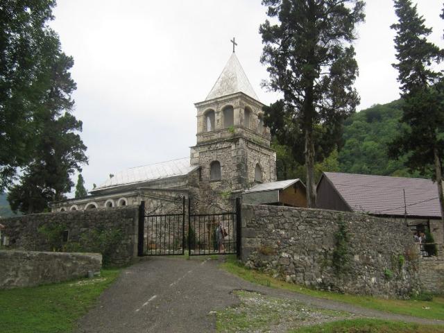 Каманы — центр паломничества Абхазии