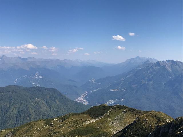 Легкий треккинг в горах над Красной Поляной