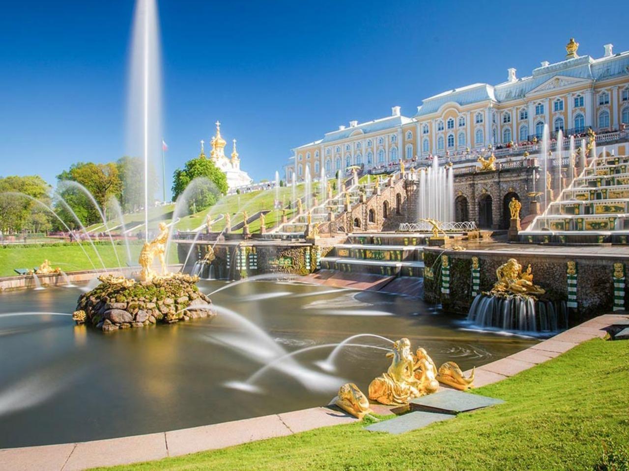 Петергоф - золоченая столица фонтанов  - индивидуальная экскурсия по Санкт-Петербургу от опытного гида