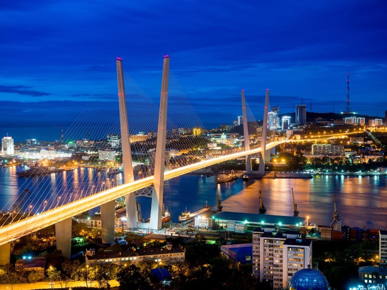 Вечерний Владивосток и о.Русский . - индивидуальная экскурсия по Владивостоку от опытного гида