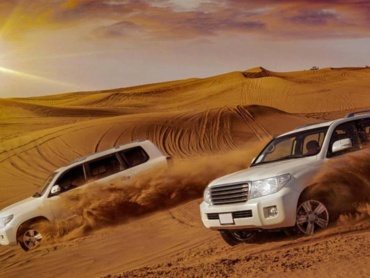 Сафари-тур - групповая экскурсия в Дубае от опытного гида