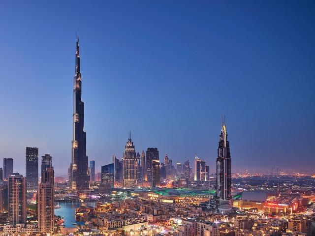 Подъем на самое высокое здание в мире—Burj Khalifa