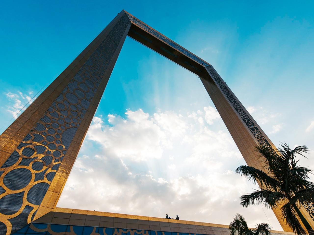 Dubai Frame — Дубайская арка из золота - индивидуальная экскурсия в Дубае от опытного гида