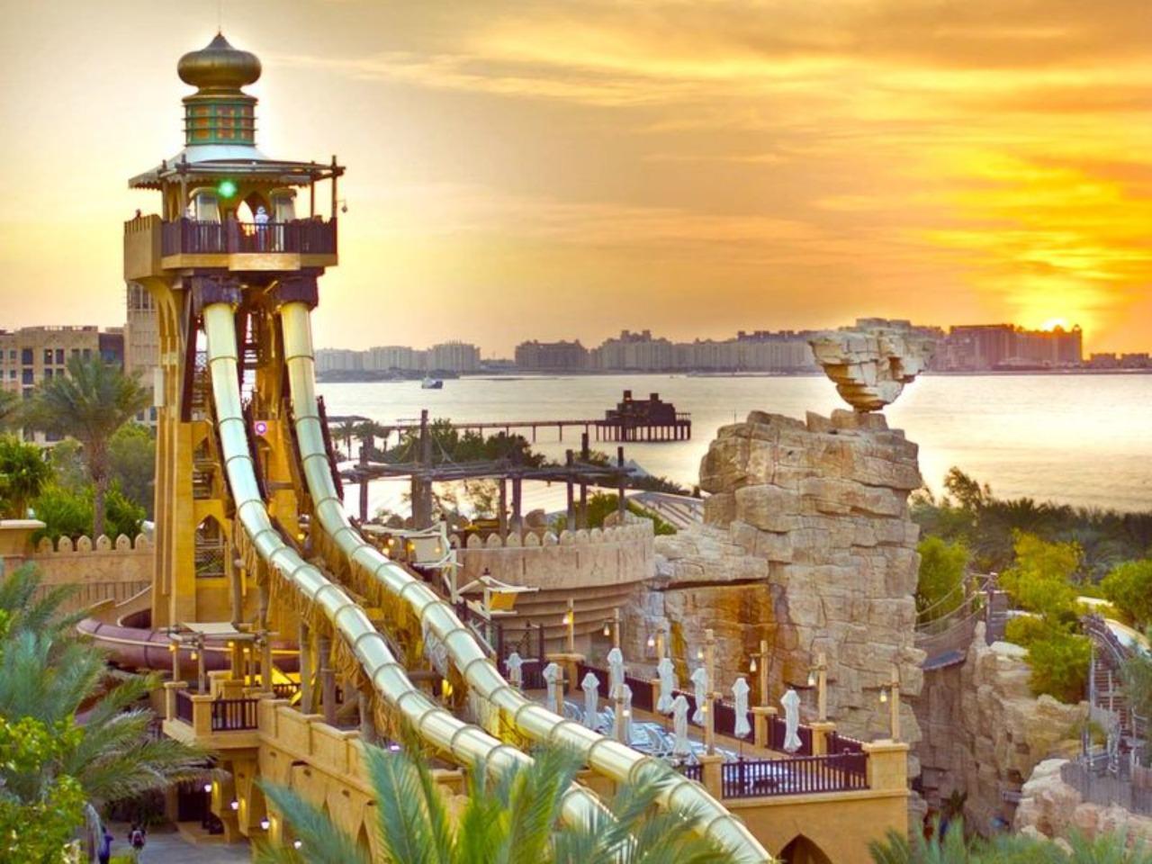 Аквапарк Wild Wadi - индивидуальная экскурсия в Дубае от опытного гида