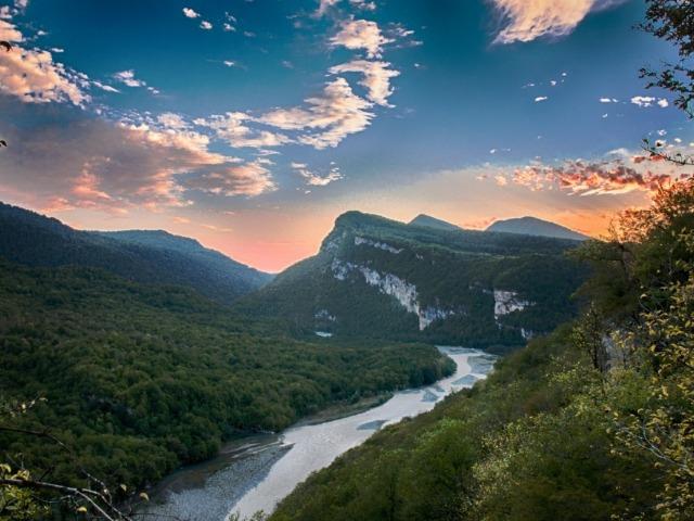 Окрестности Восточной Абхазии