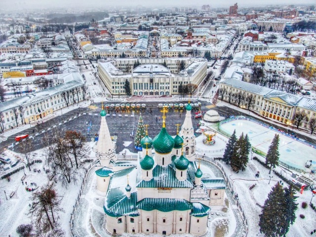 Город-музей Ярославль