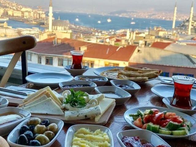 Гастрономическая экспедиция по Стамбулу
