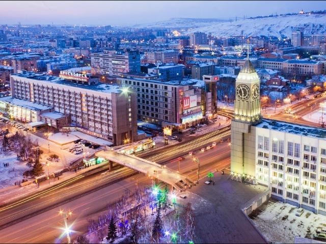 Красноярск - город солнца и седых дождей