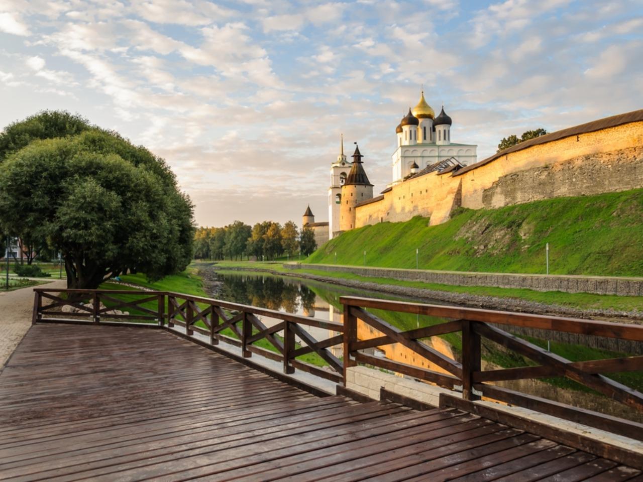 Любуемся Псковом! - индивидуальная экскурсия в Пскове от опытного гида