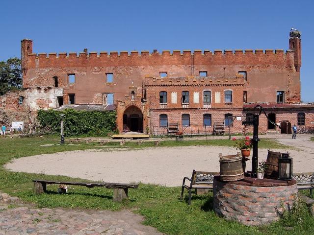 Замок Шаакен и Зеленоградск