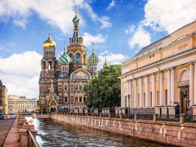 Первое знакомство с Петербургом