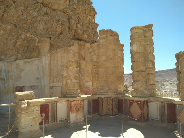 Жемчужины Израиля: крепость Масада и Мертвое море