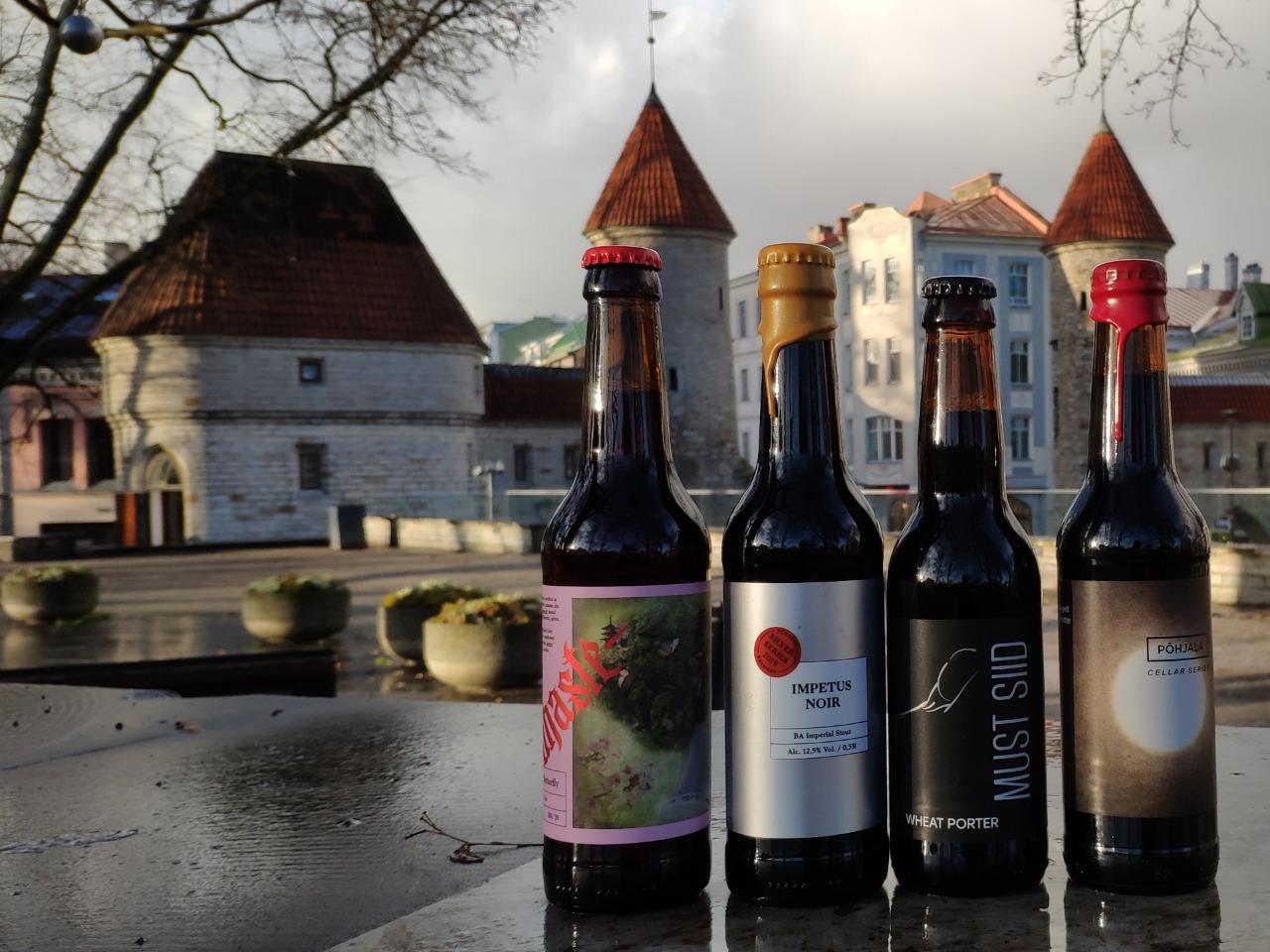 Дегустация крафтового пива в Таллинне - индивидуальная экскурсия в Таллине от опытного гида