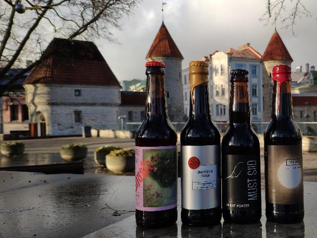 Дегустация крафтового пива в Таллинне