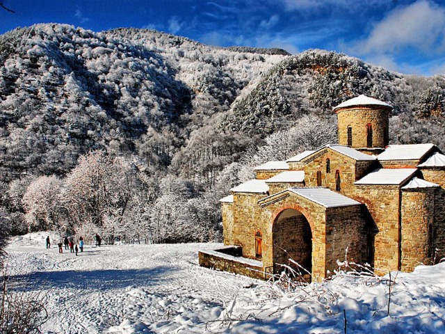 Из Пятигорска в Архыз зимой