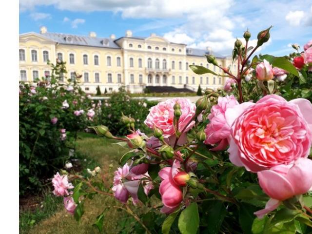 """Рундальский дворец-музей и """"французский"""" сад"""
