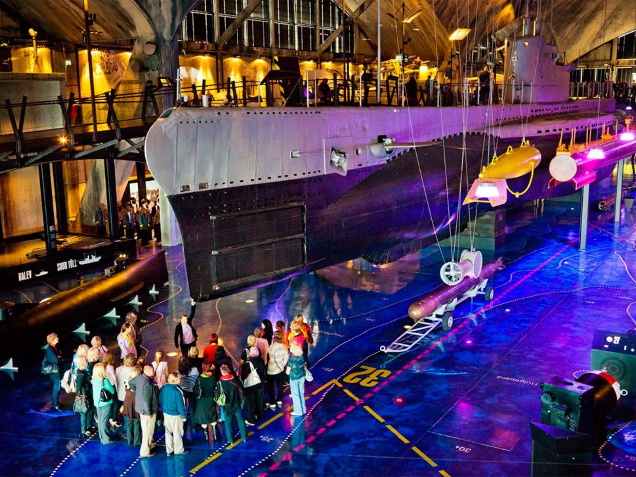 """Интерактивный музей  """"Лётная гавань"""" в Таллине - индивидуальная экскурсия в Таллине от опытного гида"""