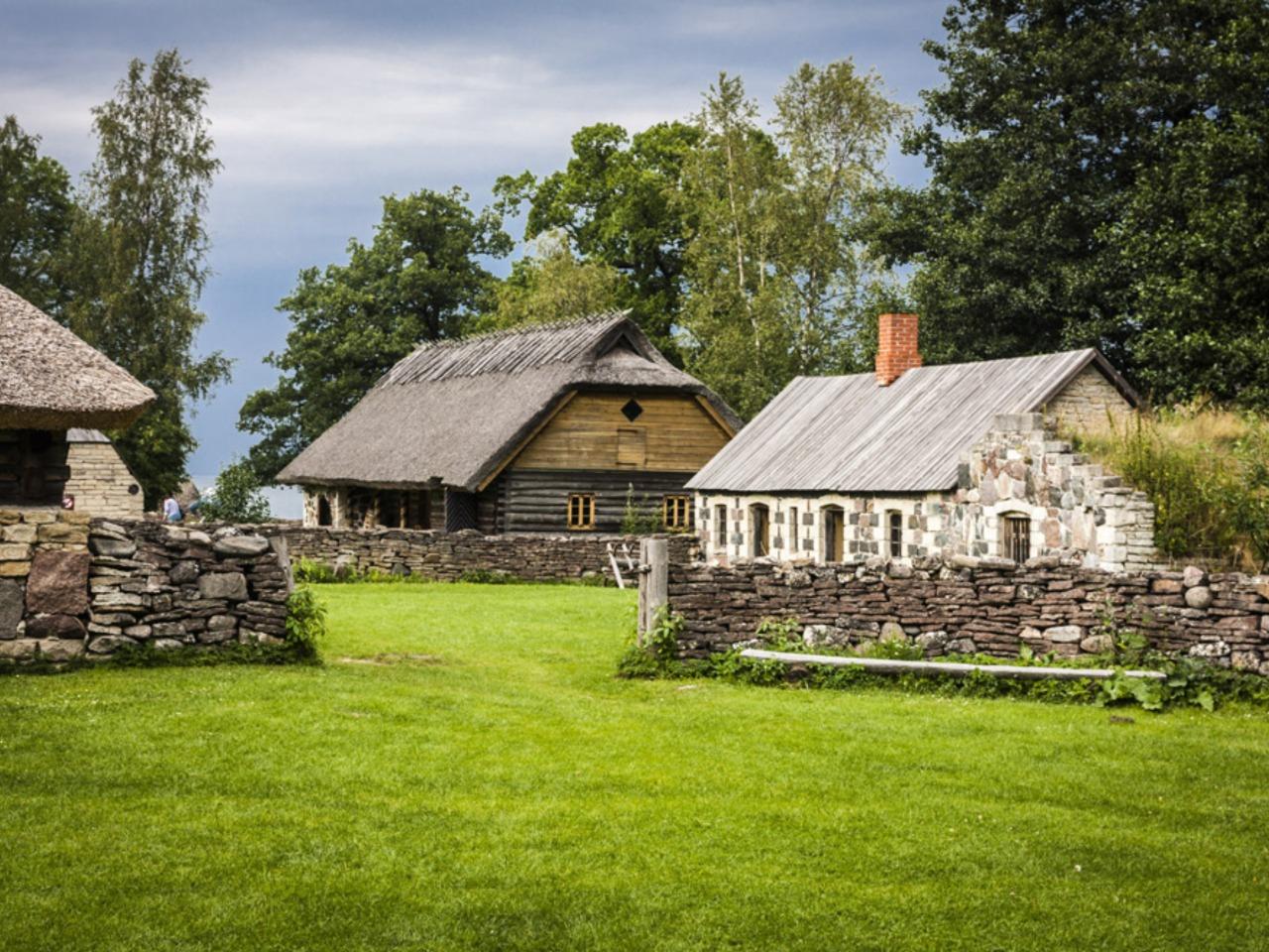 Этнографический музей Эстонии под открытым небом - индивидуальная экскурсия в Таллине от опытного гида
