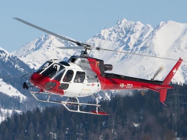 Вертолетный тур на горнолыжный курорт Домбай