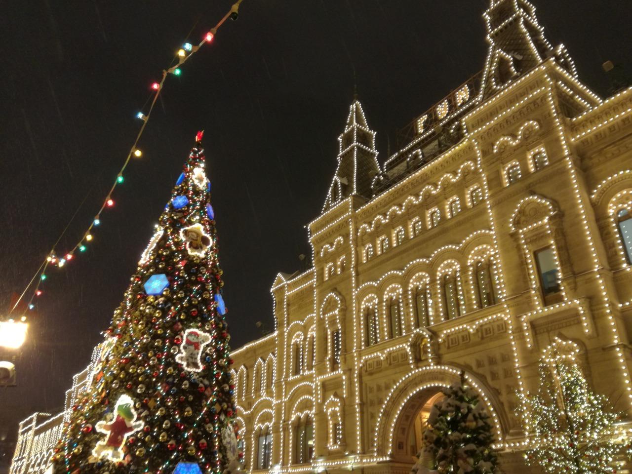 Огни новогодней Москвы - индивидуальная экскурсия по Москве от опытного гида
