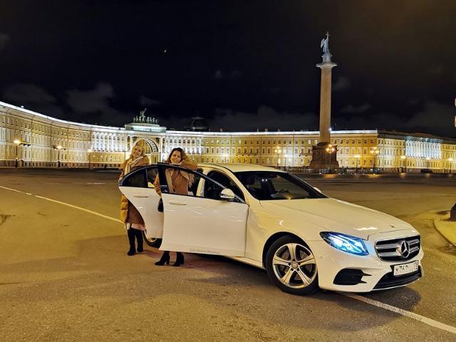 Атмосферная прогулка по ночному Санкт-Петербургу
