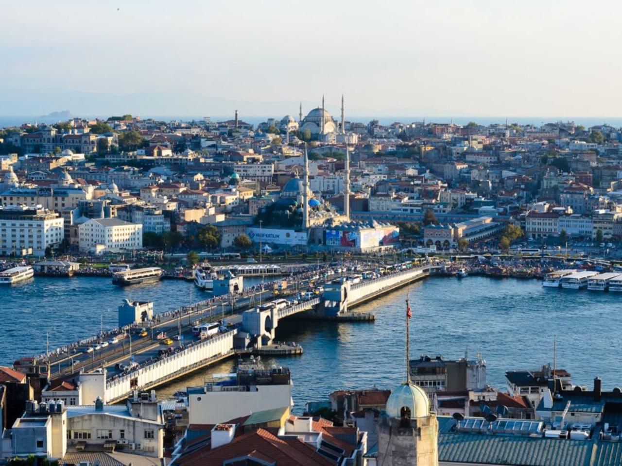 Обзорная экскурсия по Стамбулу в 15:15. Синий маршрут - групповая экскурсия в Стамбуле от опытного гида