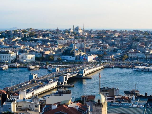Обзорная экскурсия по Стамбулу в 15:15. Синий маршрут