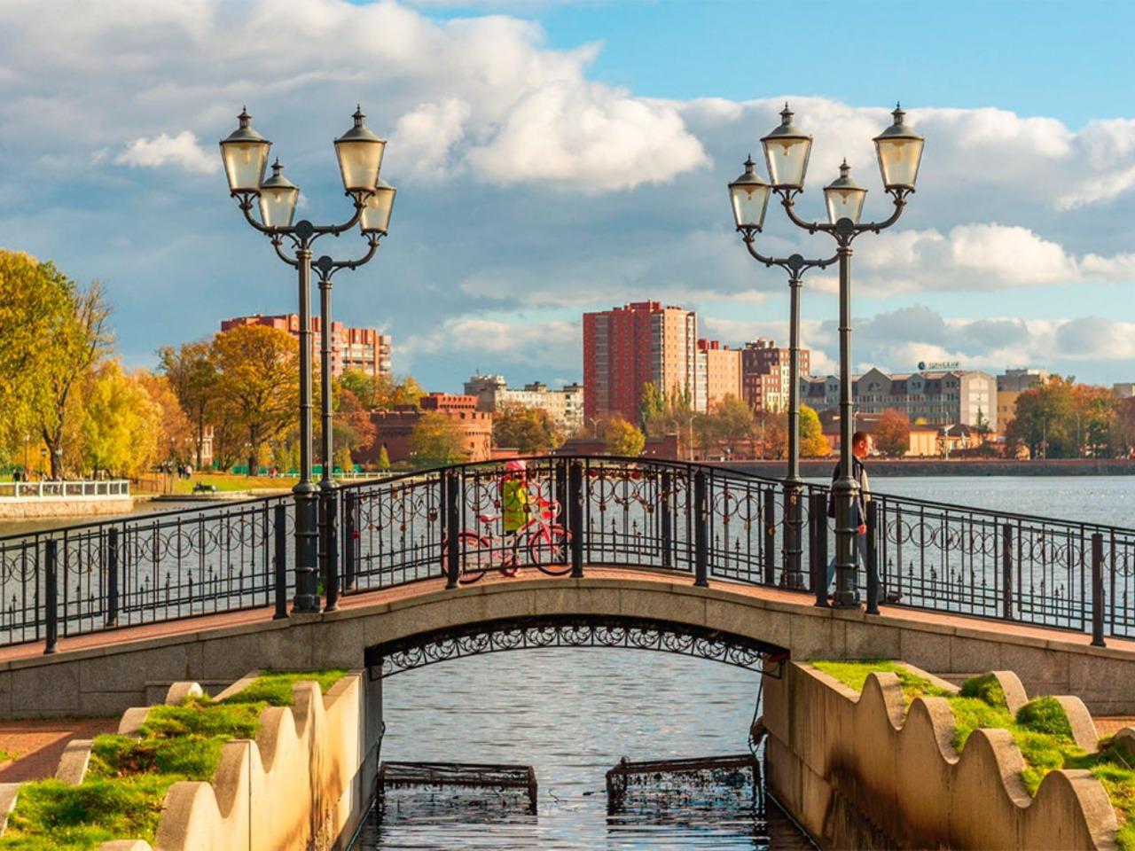 История и аттракционы Обертайха - групповая экскурсия в Калининграде от опытного гида