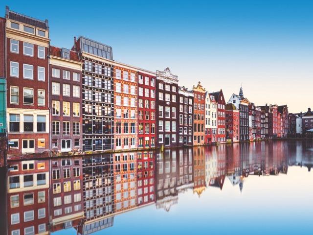 Обзорная по Амстердаму в 15:15. Красный маршрут