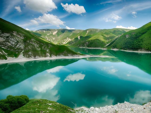 Ослепительное место — озеро Казеной-Ам