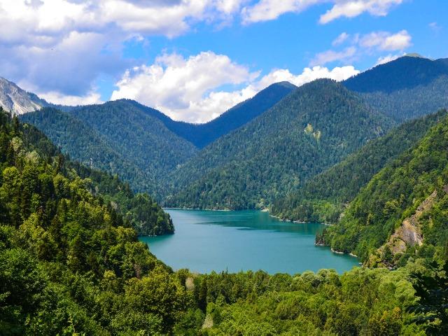 Удивительная Абхазия: Гагра, Рица и Новый Афон